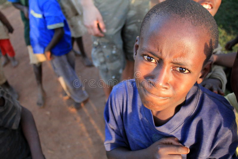A Cute Uganda Boy Editorial Photo
