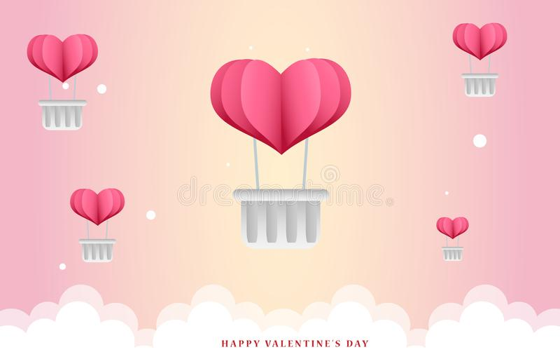 Cute valentine background illustration Hey! Remember you have to attribute freepik Copy the following link on the web you will be vector illustration