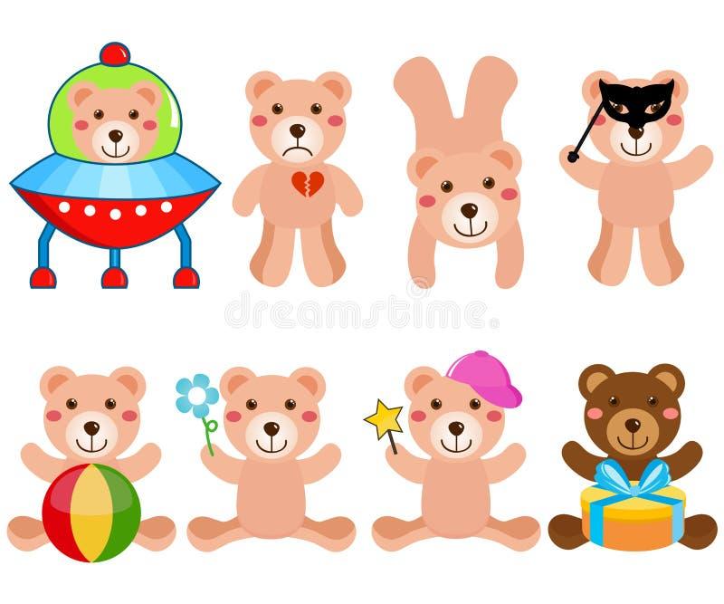 A cute Vector set : Bears