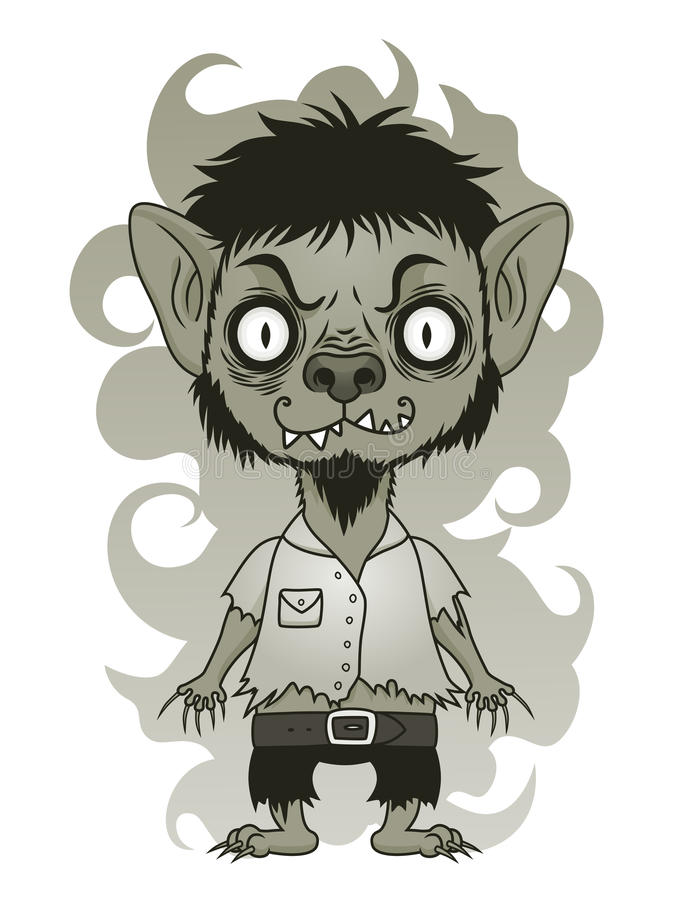 Free Cute Werewolf Stock Images - 75743584