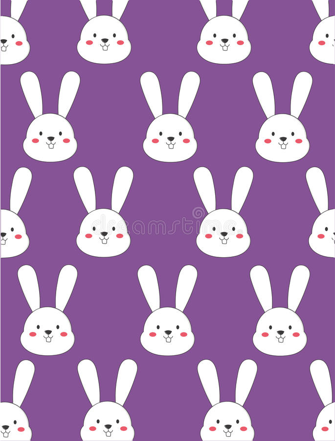 Download Cute White Bunny Stock Illustration Of Animal