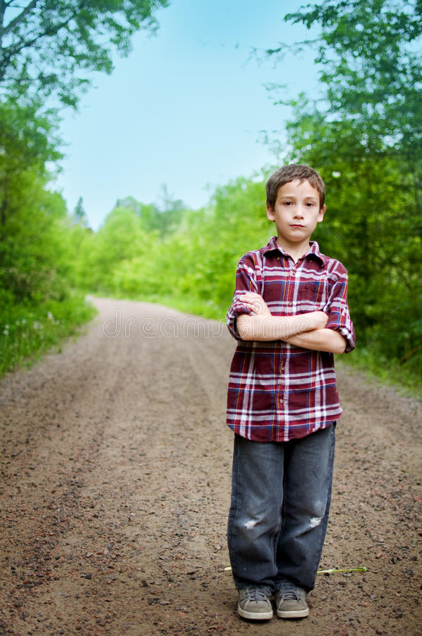 Cute Young Boy Royalty Free Stock Photo