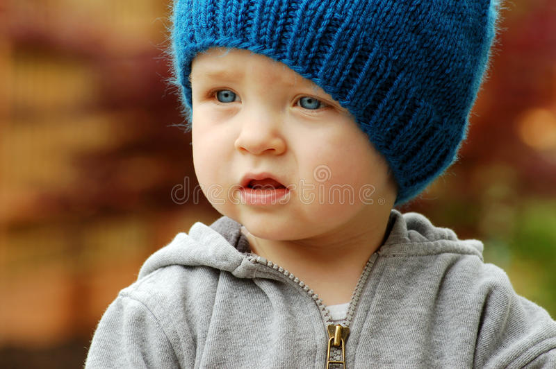 Cute Young Child stock images