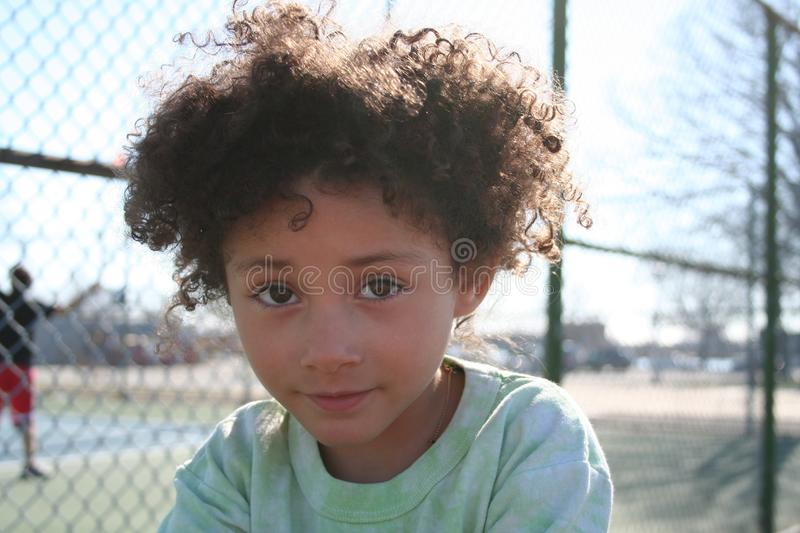 Download Cute young girl stock photo. Image of looks, frizzy, mixed - 24476836