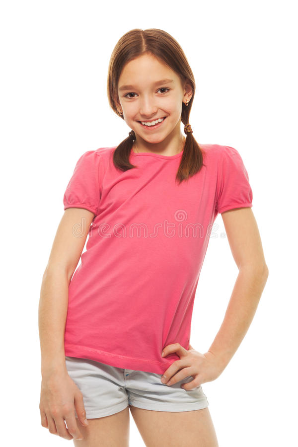 Cute, young girl royalty free stock image