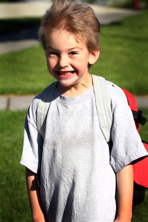 Cute Young Kindergarten Boy royalty free stock photo