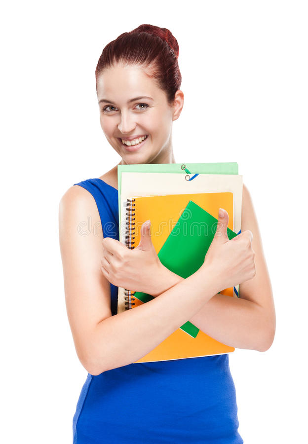 Download Cute Young Redhead Student. Royalty Free Stock Images - Image: 33337919