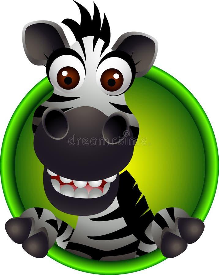 Free Cute Zebra Head Cartoon Stock Photos - 27048843