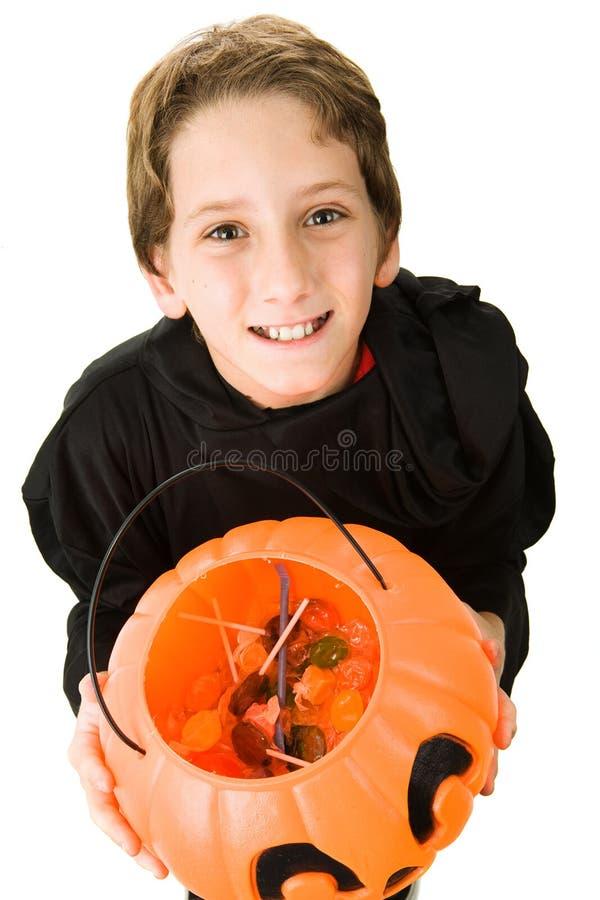 Cutest Halloween Goblin stock images
