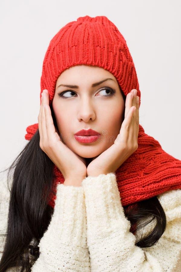 Cutie зимы. стоковые фотографии rf