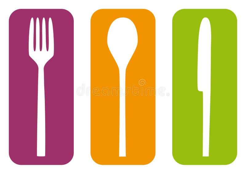 cutlery ilustracji