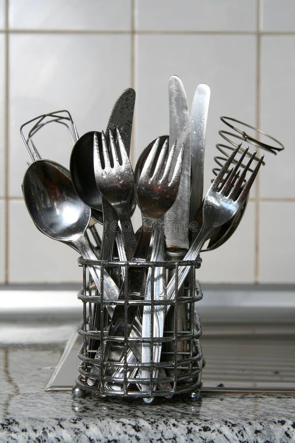 Cutlery obraz royalty free