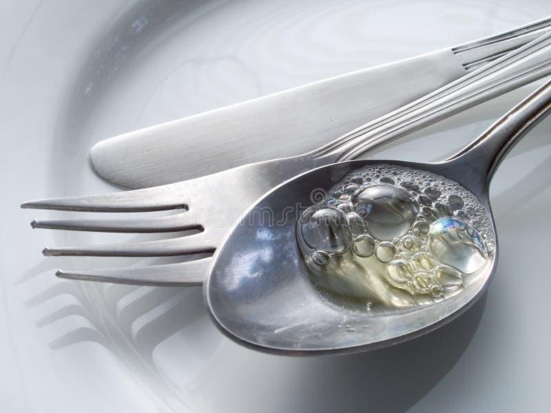 Download Cutlery стоковое фото. изображение насчитывающей керамическо - 483426