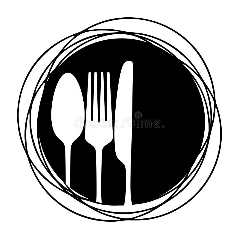 cutlery royalty ilustracja