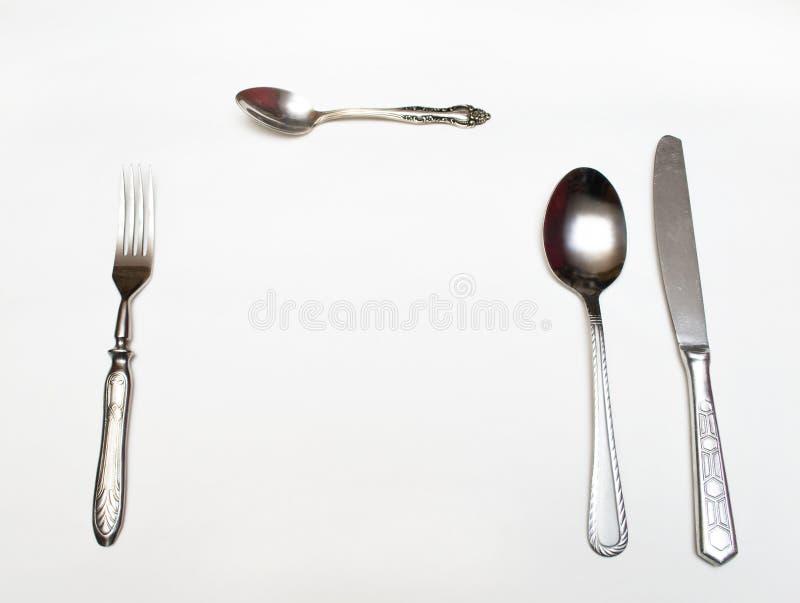 cutlery tableware obrazy royalty free