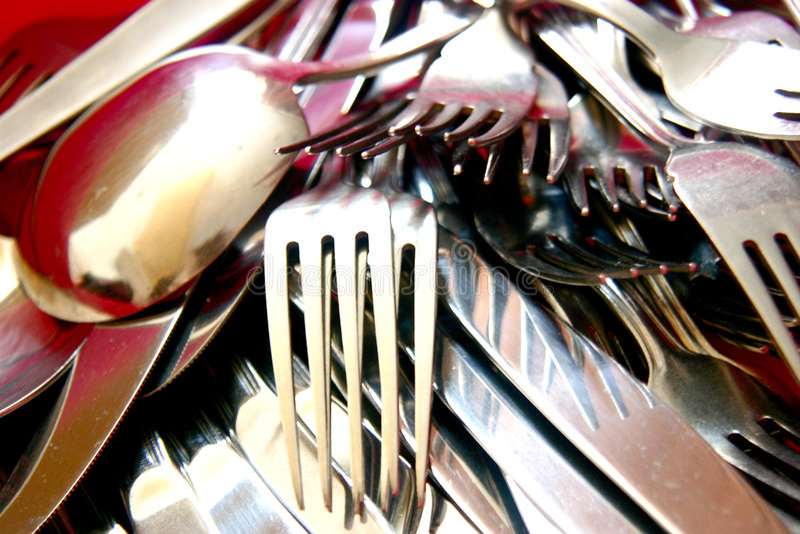 Cutlery1 fotografia de stock
