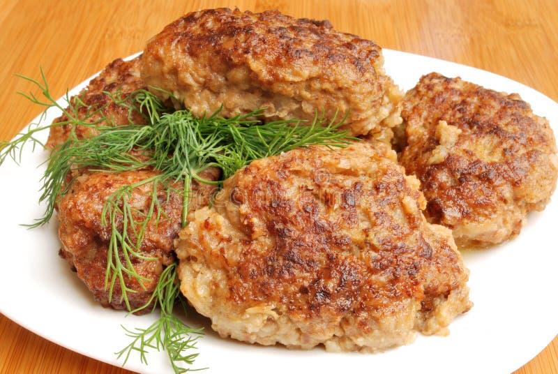 cutlet χοιρινό κρέας στοκ εικόνες