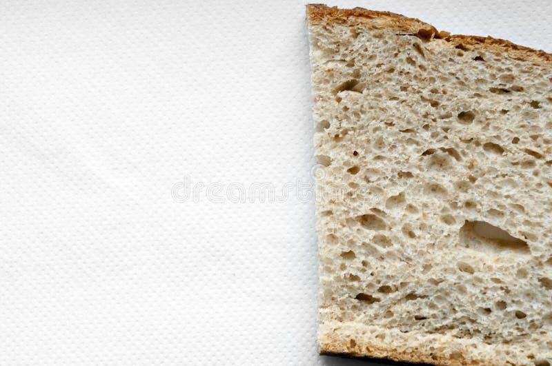 Cutted面包背景 库存图片