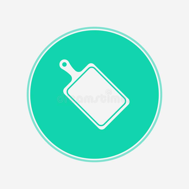 Cutter board vector icon sign symbol royalty free illustration