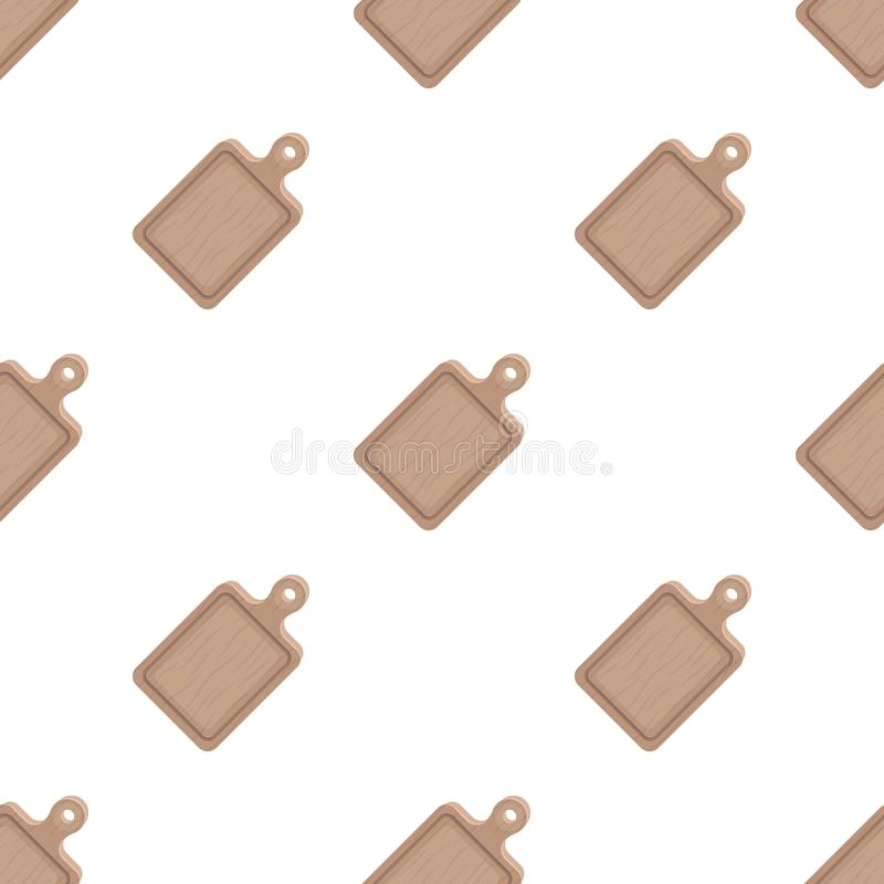 Cutting board.BBQ single icon in cartoon style vector symbol stock illustration web. Cutting board.BBQ single icon in cartoon style vector symbol stock royalty free illustration