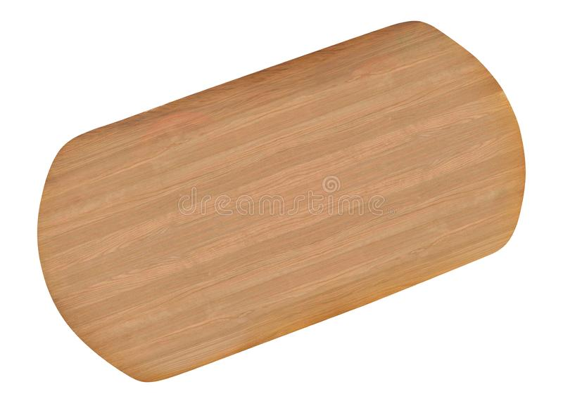 Cutting board isolated on white stock images