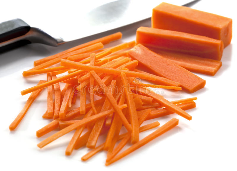 Download Cutting Carrots stock image. Image of carrots, horizontal - 14860863