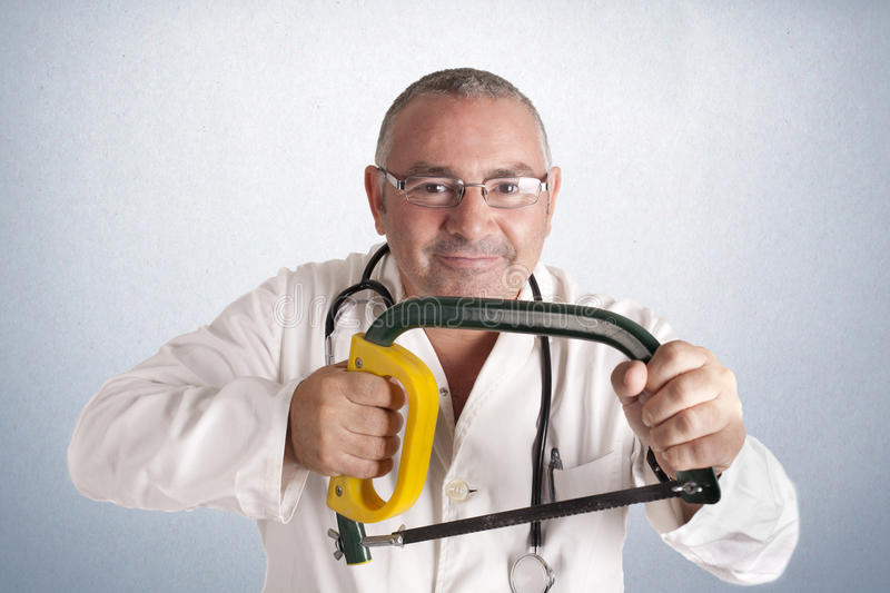 Cutting doctor stock images