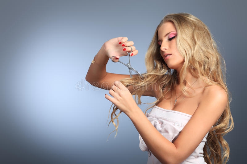 Download Cutting Hair Royalty Free Stock Photo - Image: 18027145