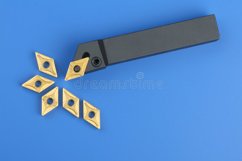 Download Cutting Inserts For Turning Stock Image - Image of technical, sintered: 3405135