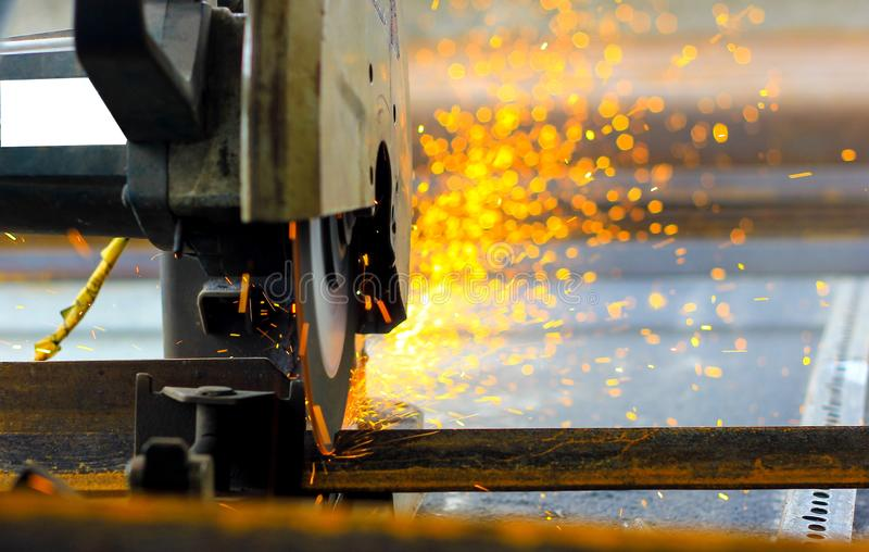 Cutting Steel Stock Photo Image Of Safety Cutting Light 30219334