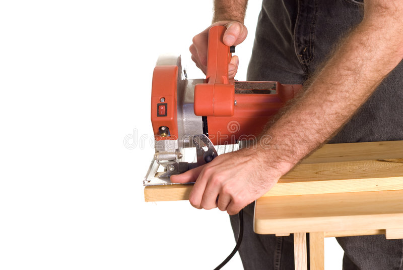 Download Cutting Lumber stock image. Image of blade, cautious, construction - 7233097