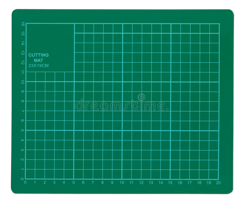 Download Cutting Mat stock photo. Image of background, metric, green - 1049672