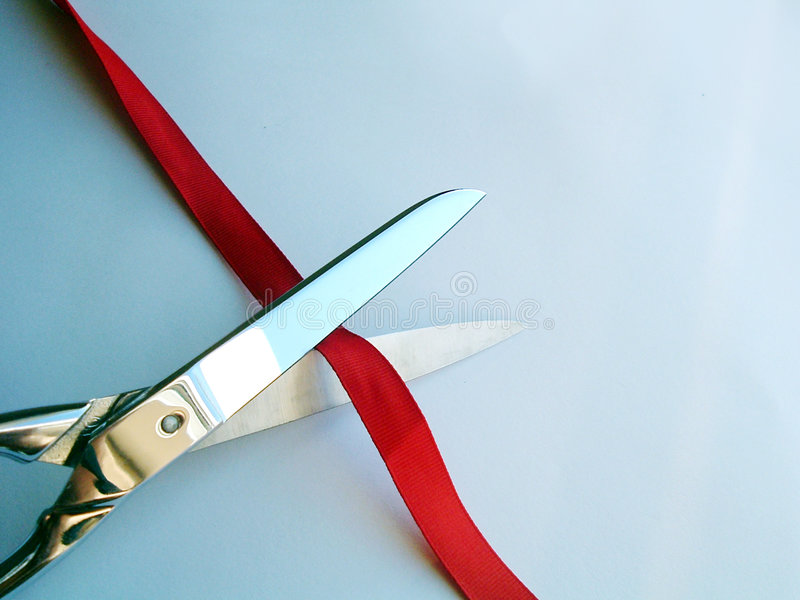 Download Cutting ribbon stock image. Image of decorating, open, starting - 397265
