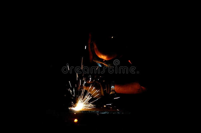 Cutting torch, welding royalty free stock images