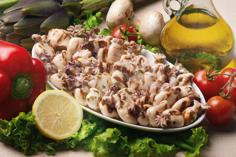 Download Cuttle fish stock image. Image of calamari, cuttle, cook - 13340433