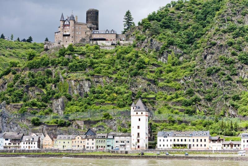 Cutts Schloss lizenzfreies stockbild