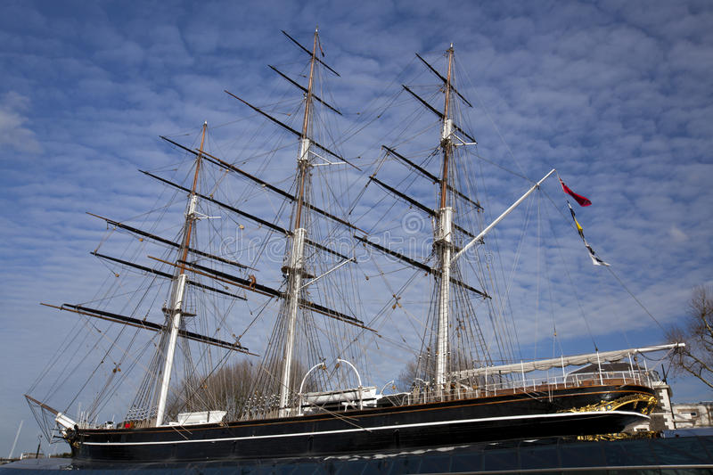 Cutty Sark stock fotografie