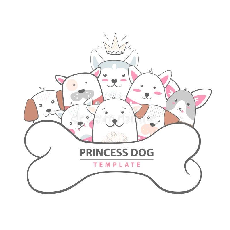 Cutu, смешная собака - животная иллюстрация бесплатная иллюстрация