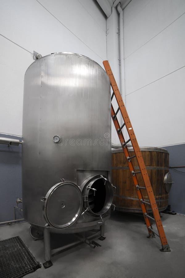 Cuve de fermentation photos libres de droits