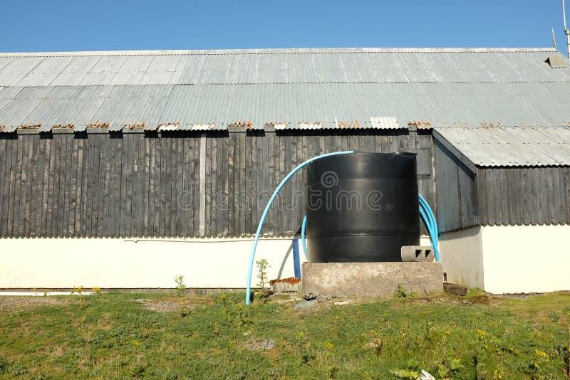 Cuve de stockage de l'eau image libre de droits