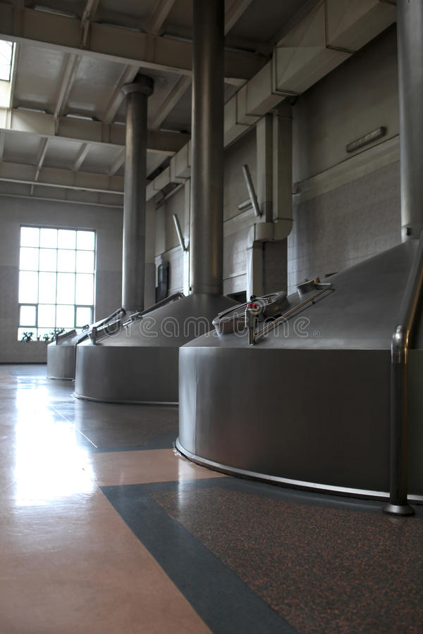 Cuves de fermentation photos stock