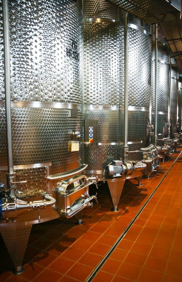 Cuves de fermentation image libre de droits