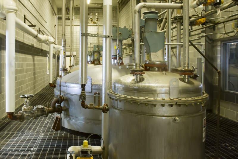 Cuves fermentation de par levure image libre de droits
