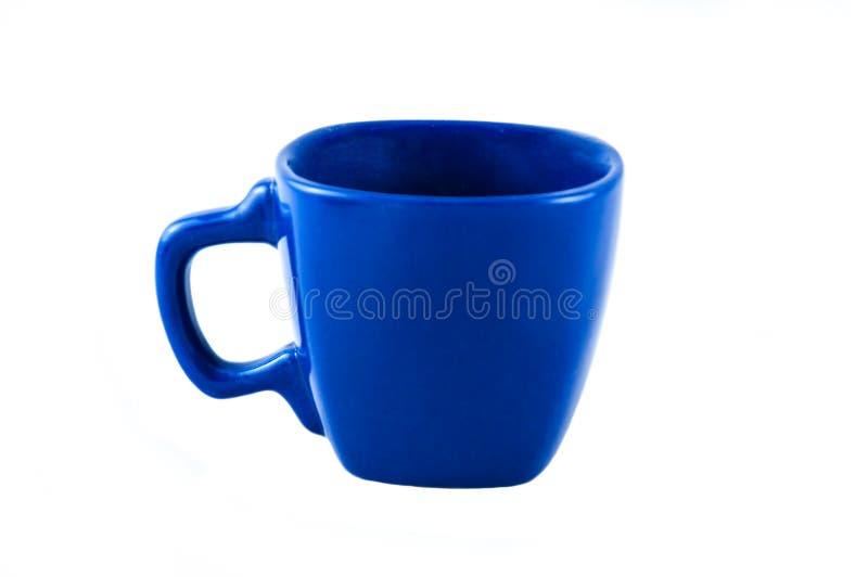Cuvette bleue photographie stock libre de droits