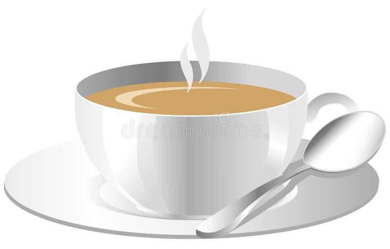 Cuvette de café illustration libre de droits