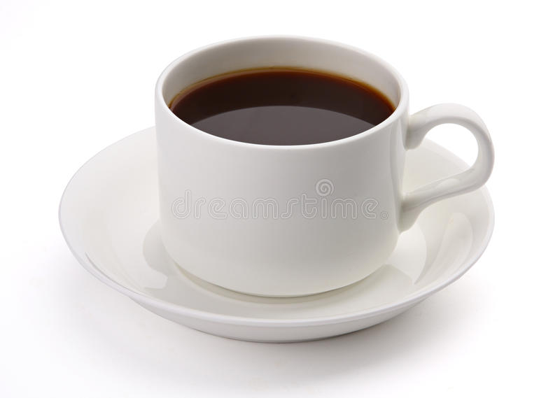 Cuvette de café photographie stock