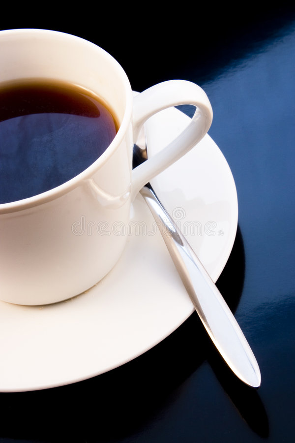 Cuvette de café photo stock
