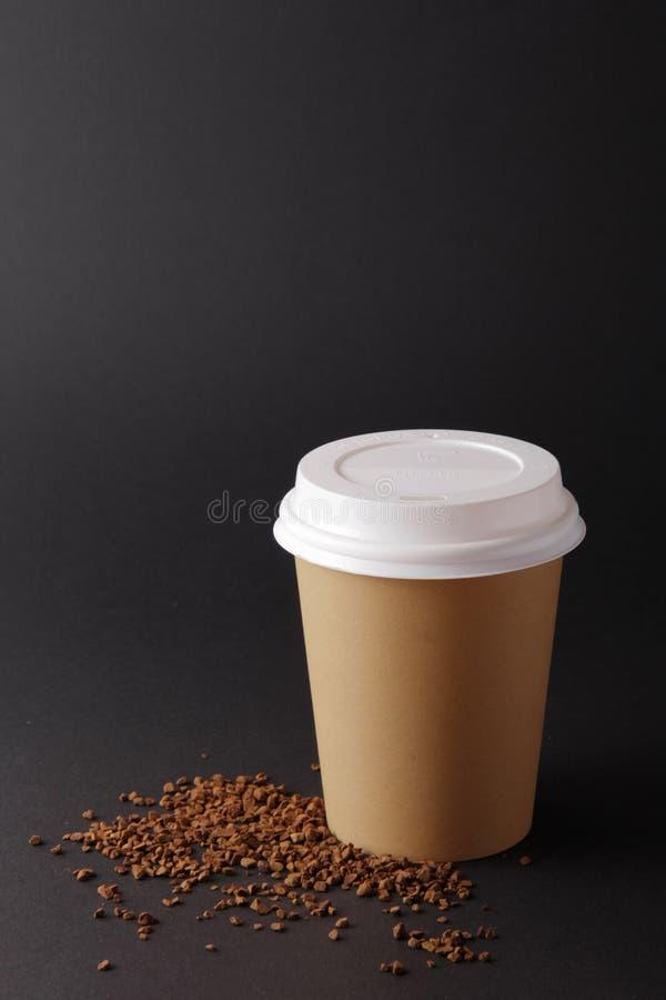 Cuvette de café blanc photos stock
