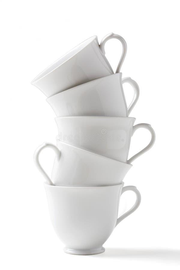 Download Cuvette de café blanc photo stock. Image du soucoupe - 76085014
