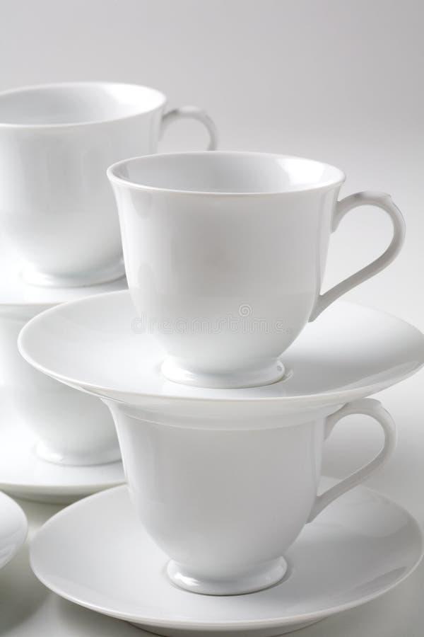 Download Cuvette de café blanc image stock. Image du haut, céramique - 76085047
